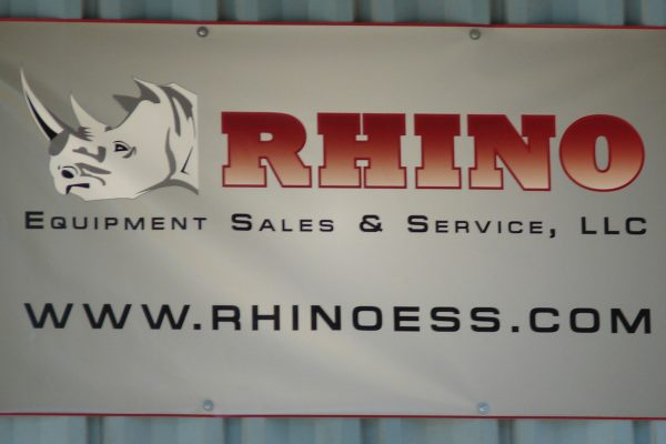 Why Rhino - Rhino ESS Sign - in place of Marks photo