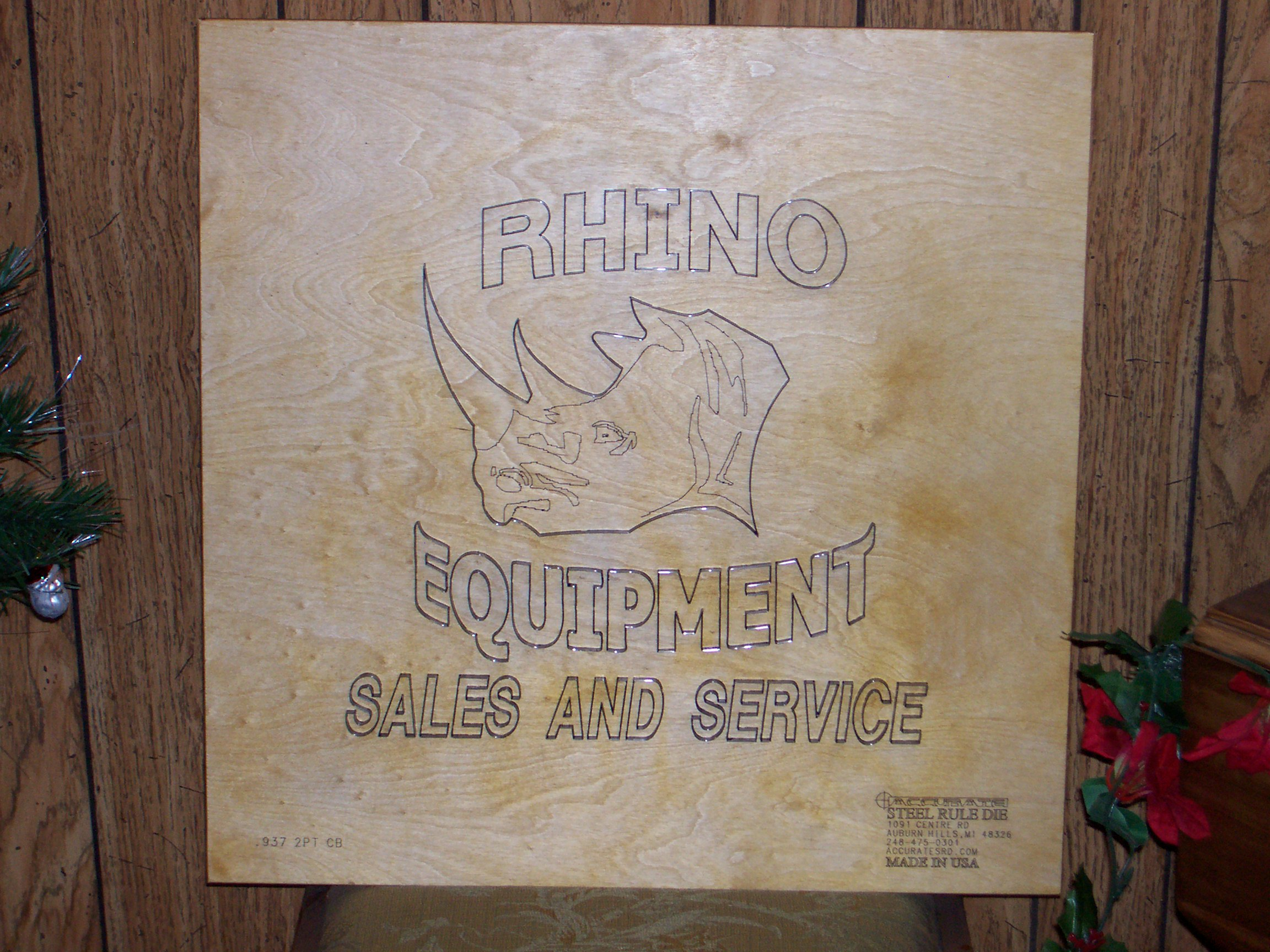 Why Rhino - Rhino ESS Steel Rule Die